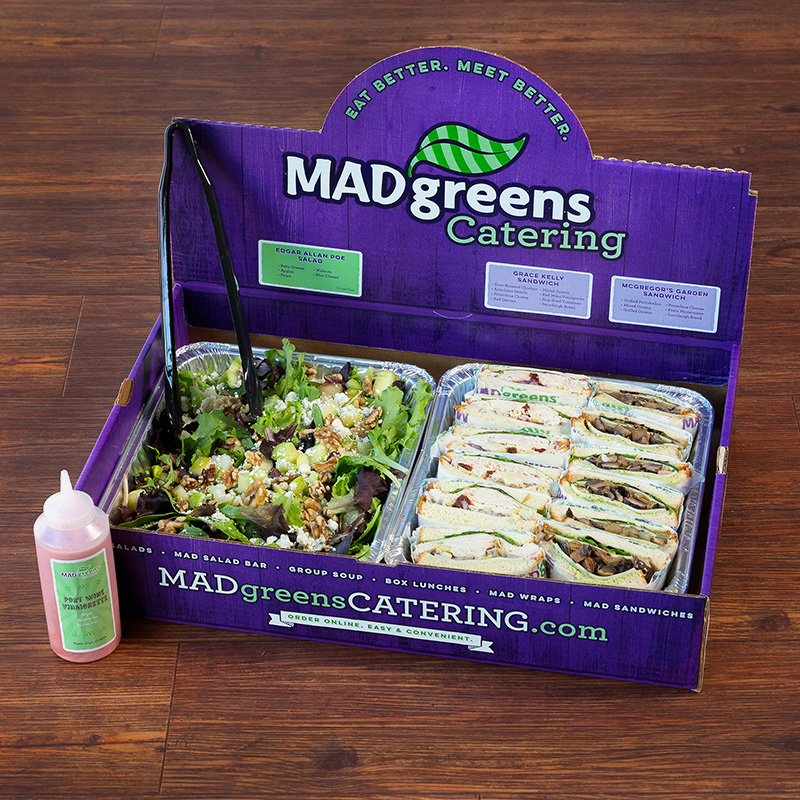 1 MAD Salad and 12 Half MAD Sandwiches (TX)
