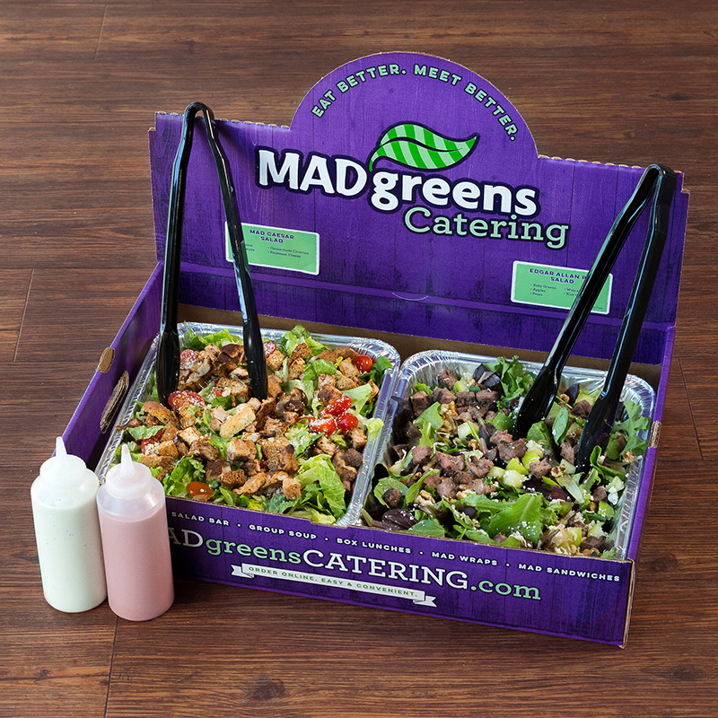 2 MAD Salads & 2 Protein Add-Ins