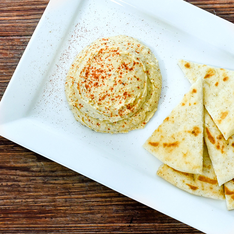 Hand-crafted Hummus